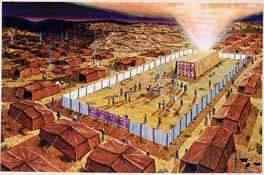 Now God no longer lives in a tent of material or in a building made with mortar and stone like a temple or churchbuilding but in man who converted and ... & The Endtime-messenger - Tabernacle study - The spiritual meaning ...
